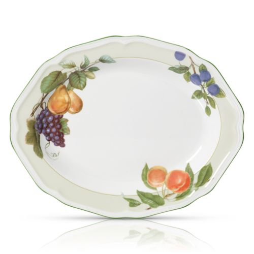 Mikasa Antique Orchard Oval Serving Platter