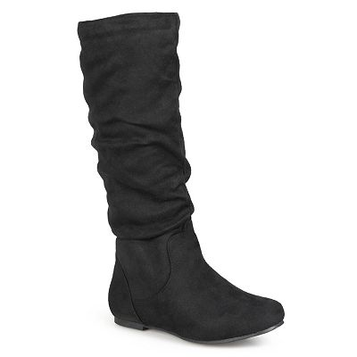 Journee Collection Rebecca Knee-High Slouch Boots - Women