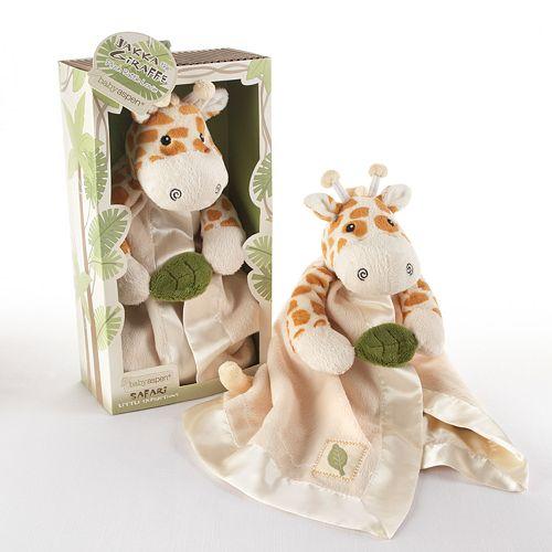 Baby Aspen Jakka the Giraffe Little Expeditions Plush Blanket