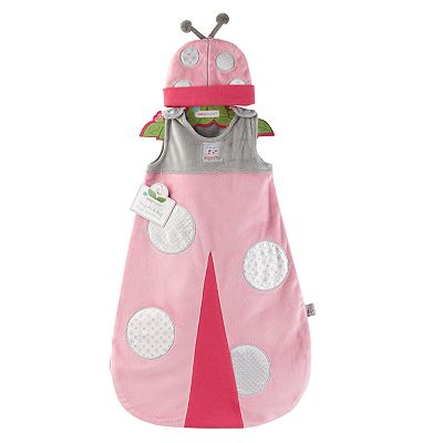 Baby Aspen Snug as a Bug Snuggle Sack and Cap Gift Set - Newborn