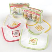 Baby Aspen Animal Crackers for Messy Snackers Bib Gift Set - Newborn