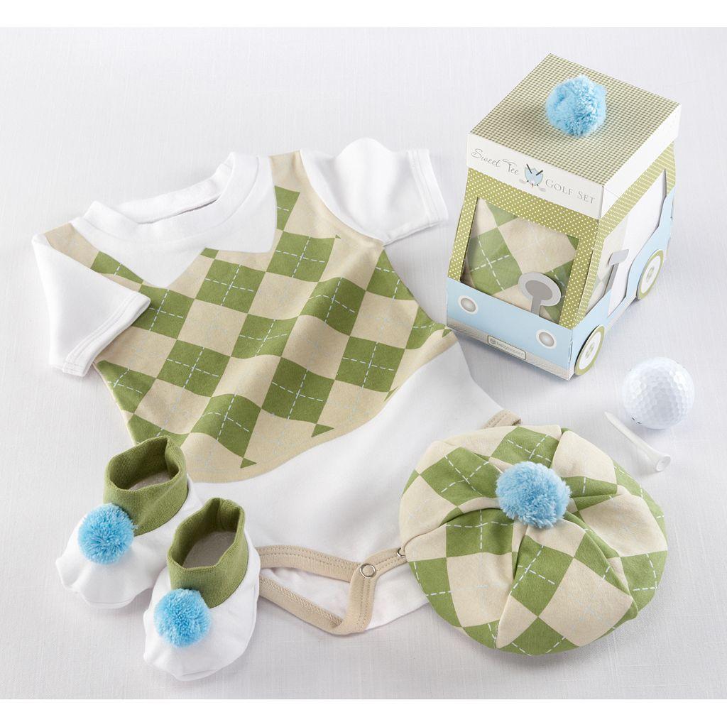 Baby Aspen Big Dreamzzz Sweet Tee Bodysuit Gift Set - Baby