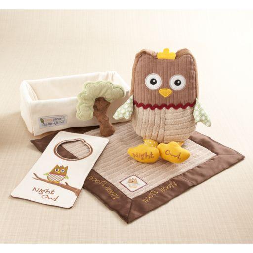 Baby Aspen My Little Night Owl Gift Set - Newborn