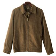 Croft and Barrow Microsuede Bomber Jacket