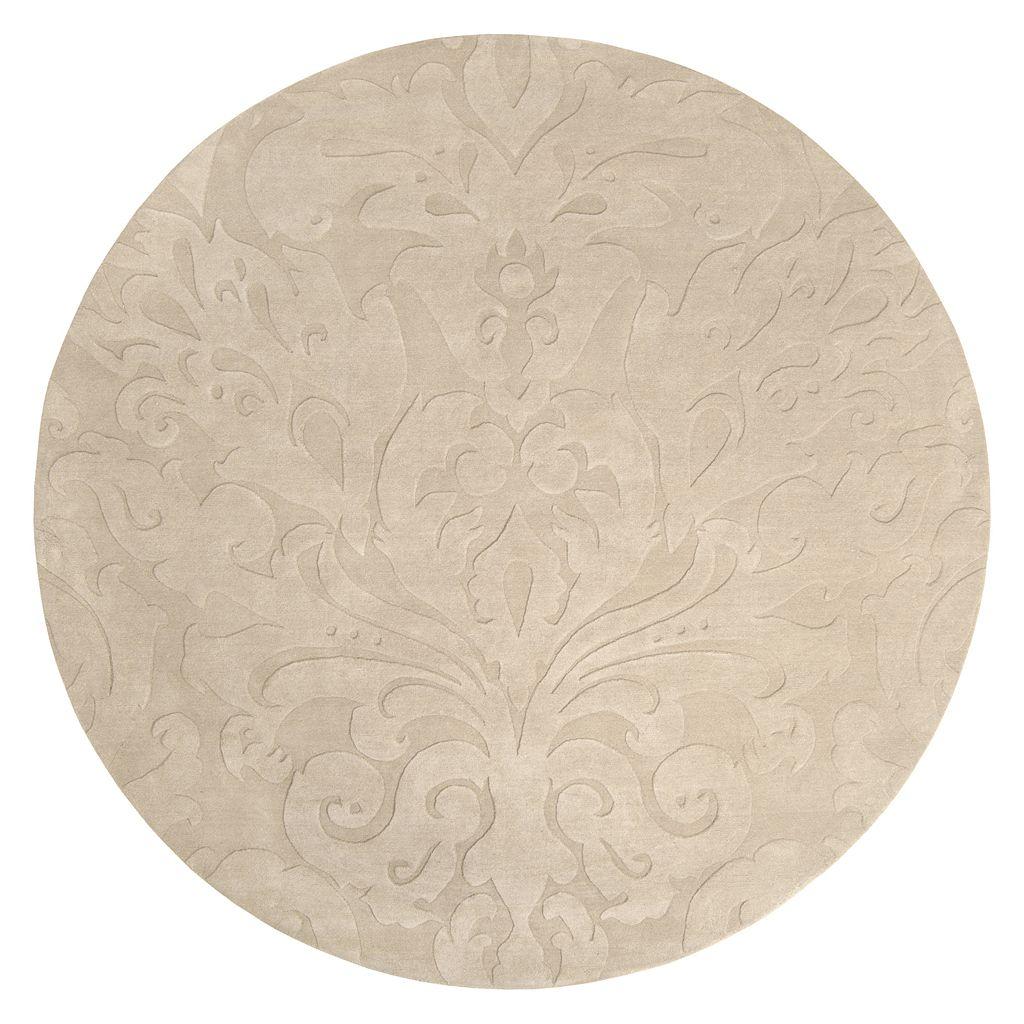 Surya Sculpture Floral Rug - 8' Round