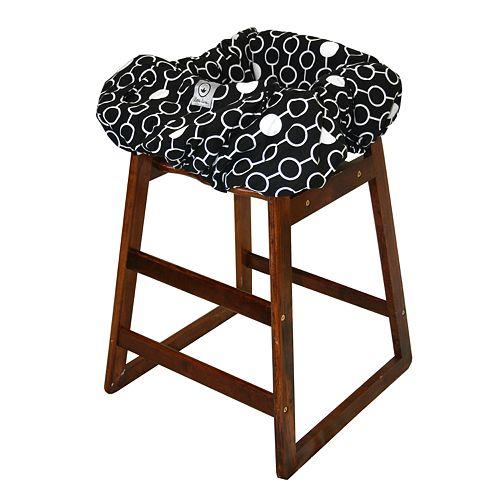 Miraculous Little Luxe Link Shopping Cart High Chair Cover Alphanode Cool Chair Designs And Ideas Alphanodeonline
