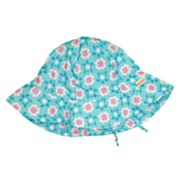 water wear by i play. Daisies Sun Protection Hat - Baby