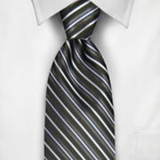 Haggar Textured Striped Tie