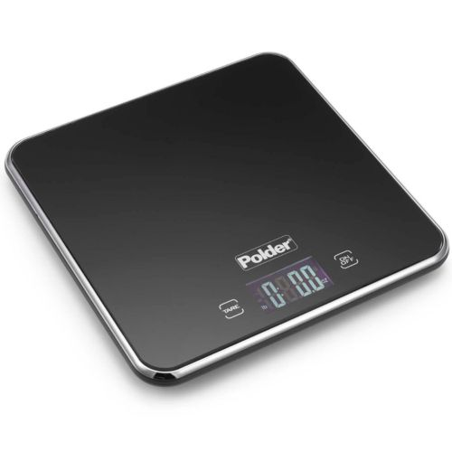 Polder Digital Slim Food Scale