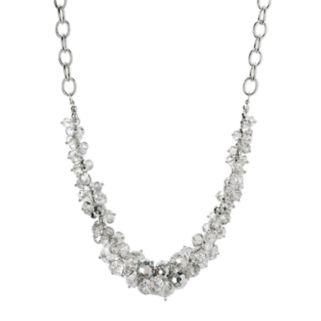 Simply Vera Vera Wang Cluster Necklace
