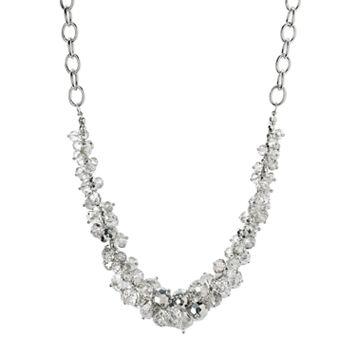 Simply Vera Vera Wang Cluster Necklace