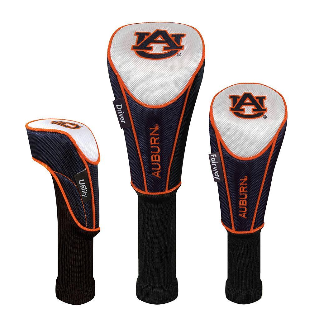 Team Effort Auburn Tigers 3-pc. Head Cover Set