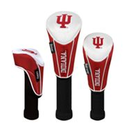 Team Effort Indiana Hoosiers 3-pc. Head Cover Set