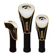 Team Effort Iowa Hawkeyes 3-pc. Head Cover Set