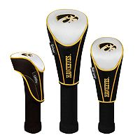 Team Effort Iowa Hawkeyes 3 pc Head Cover Set