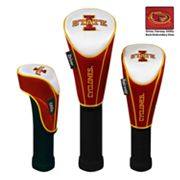 Team Effort Iowa State Cyclones 3-pc. Head Cover Set