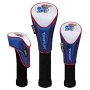 Team Effort Kansas Jayhawks 3-pc. Head Cover Set