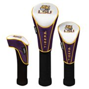 Team Effort LSU Tigers 3-pc. Head Cover Set