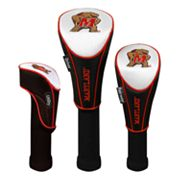 Team Effort Maryland Terrapins 3-pc. Head Cover Set