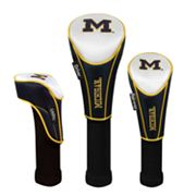 Team Effort Michigan Wolverines 3-pc. Head Cover Set
