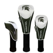 Team Effort Michigan State Spartans 3-pc. Head Cover Set