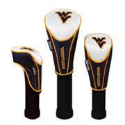 Team Effort West Virginia Mountaineers 3-pc. Head Cover Set