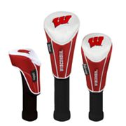 Team Effort Wisconsin Badgers 3-pc. Head Cover Set
