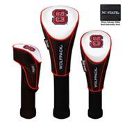 Team Effort North Carolina State Wolfpack 3-pc. Head Cover Set