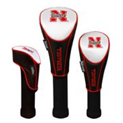 Team Effort Nebraska Cornhuskers 3-pc. Head Cover Set
