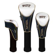 Team Effort Pitt Panthers 3-pc. Head Cover Set
