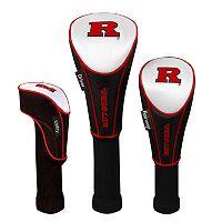 Team Effort Rutgers Scarlet Knights 3-pc. Head Cover Set
