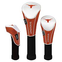 Team Effort Texas Longhorns 3-pc. Head Cover Set
