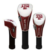 Team Effort Texas A and M Aggies 3-pc. Head Cover Set