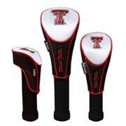 Team Effort Texas Tech Red Raiders 3 pc Head Cover Set
