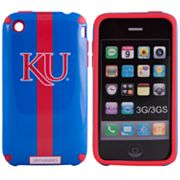 iFanatic Kansas Jayhawks iPhone 3G/3GS HELMETZ Hard Case