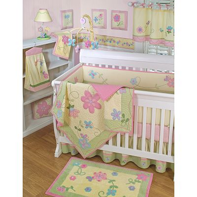 Sumersault Charlotte Crib Bedding Set