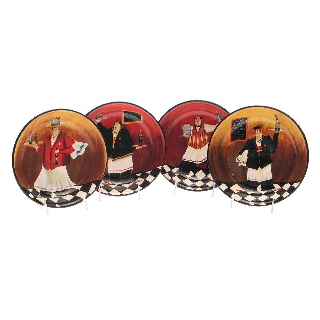 Certified International Bistro 4-pc. Pasta Bowl Set