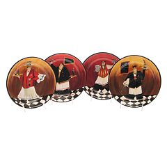 Certified International Bistro 4 pc Pasta Bowl Set