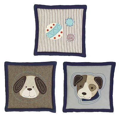 Sumersault Show Doggies Wall Art Set