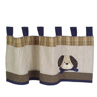 Sumersault Show Doggies Window Valance