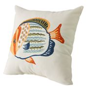 Home Classics Fish Decorative Pillow