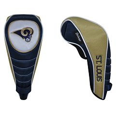 McArthur St. Louis Rams Shaft Gripper Driver Head Cover