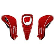 Team Effort Wisconsin Badgers Shaft Gripper Driver Head Cover