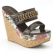 Sacred Heart Anisa Platform Wedge Sandals - Women