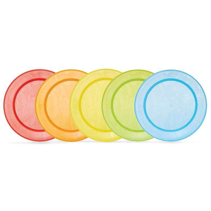 Munchkin 5-pk. Fish Dinner Plates