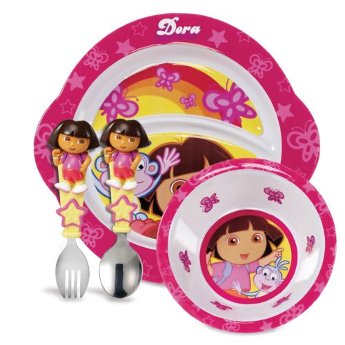Dora the Explorer Dining Set by Munchkin