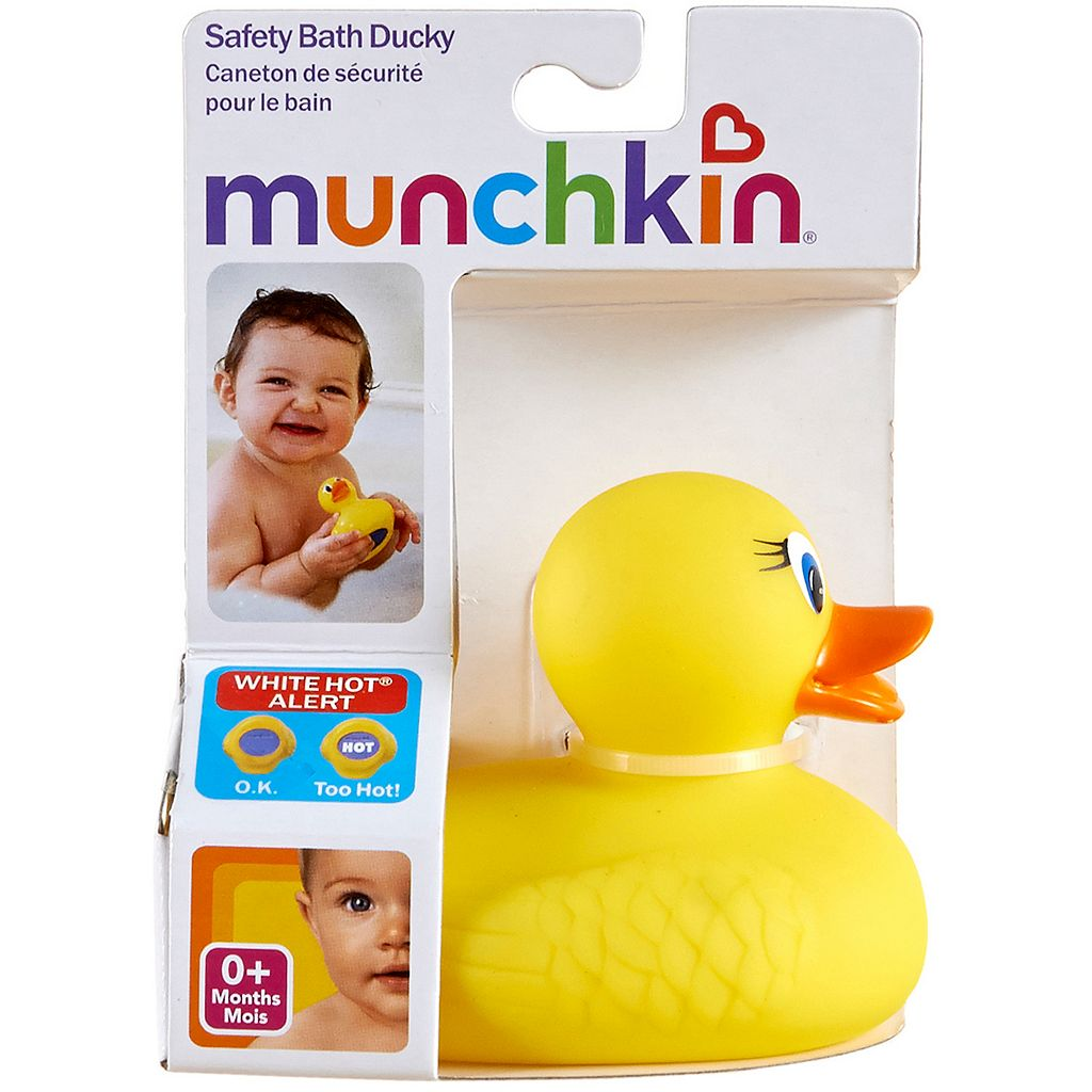 Munchkin White Hot Safety Bath Duck Toy