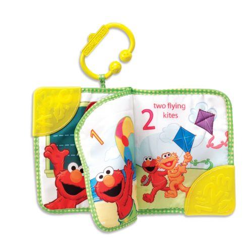 Sesame Street Elmo Teething Book