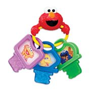 Sesame Street Clicky Keys Teether