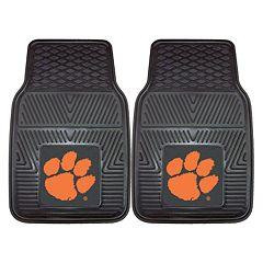 FANMATS 2-pk. Clemson Tigers Car Floor Mats